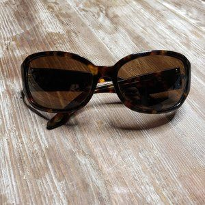 TALBOTS Oval Brown Tortoise Shell Sunglasses